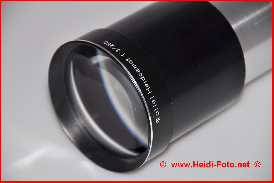 180/ 3,5 Rollei Heidosmat für Mittelformat Diaprojektor P66S P66 66 AV DUAL P