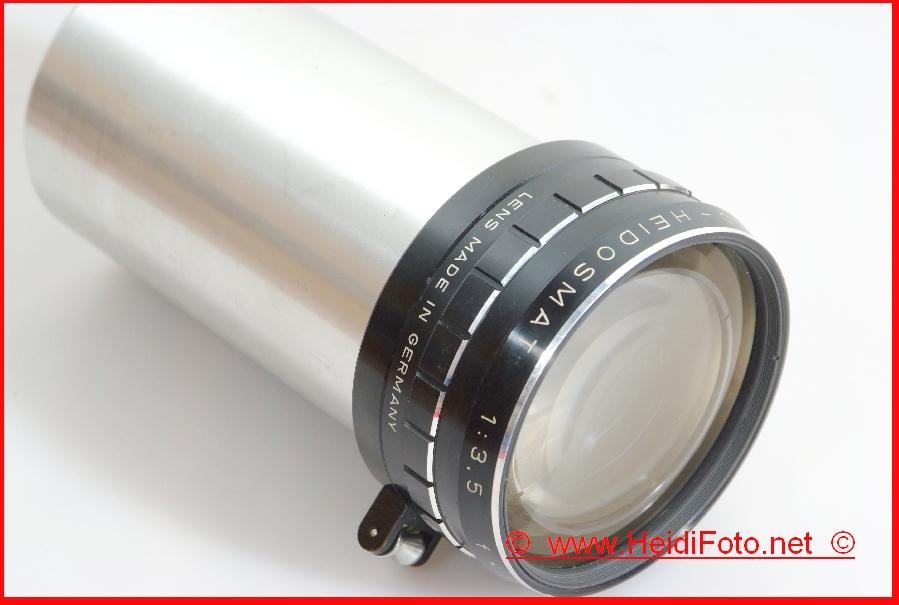 110-160mm /3,5 Rollei Vario-HEIDOSMAT P66S Rolleivion P 66 AV Dual