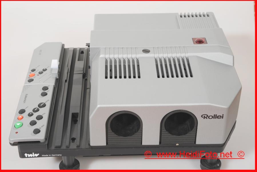 Rollei MSC 310 twin Gehäuse Rolleivision AF IR Diaprojektor