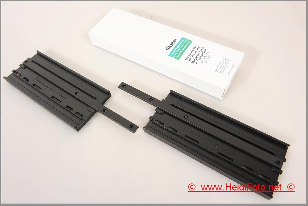 Rollei Magazinbahnverlängerung f. Rolleivision MSC & 66 Dual P Diaprojektor