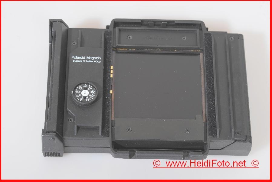 Rollei Polaroidmagazin f. Rolleiflex 6000-6008 1A Zust.