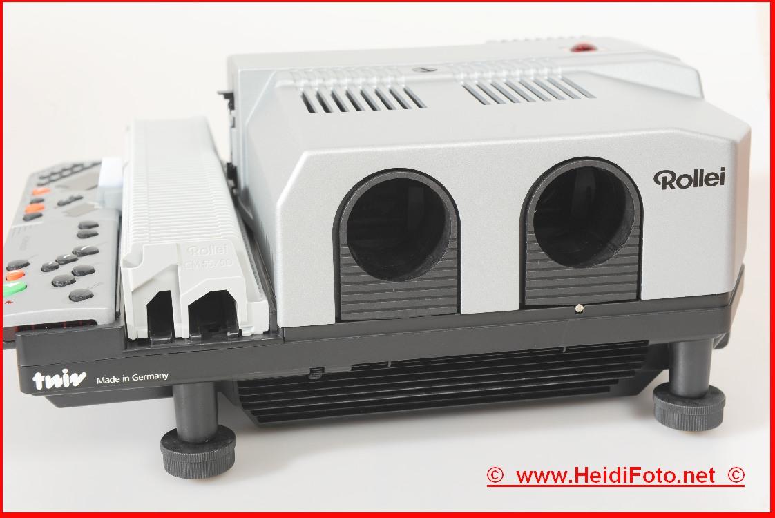 Rollei MSC 535P twin 535 P Rolleivision Diaprojektor Gehäuse top Zustand!