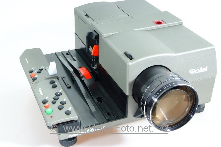 Rollei 66 DUAL P Rolleivision Diaprojektor m. 110-160